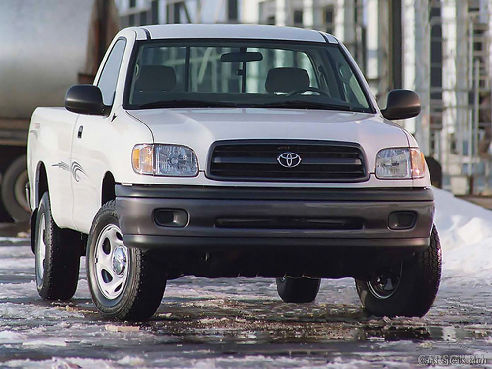 2000 toyota tundra regular cab specifications pictures prices. Black Bedroom Furniture Sets. Home Design Ideas