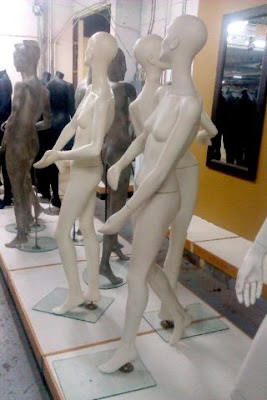 MANNEQUINS ~ EXOTIC ~ ART DECO STYLE - 7