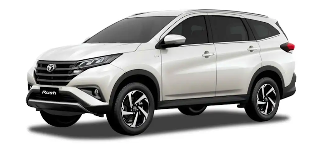 2019 Toyota RUSH as low as 54k Downpayment!