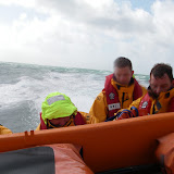 11 September 2011 - the crew prepare for a man overboard exercise (MOB)