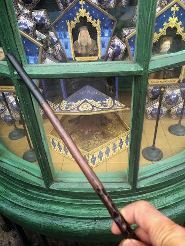 hogsmeade interactive wands