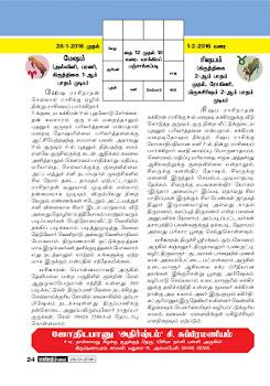 Weekly Raasi Palan