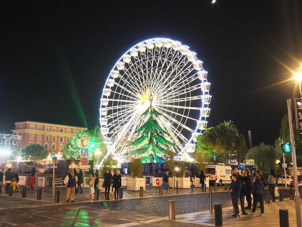 france nice christmas market