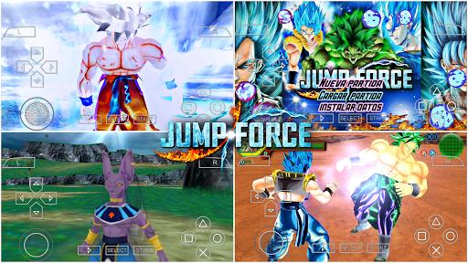 SAIUU! Novo Dragon Ball Z Tenkaichi TaG Team MOD JUMP FORCE +MENU DBS TTT V1 Para ANDROID (PPSSPP)