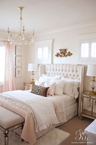 randi garrett design girls pink room