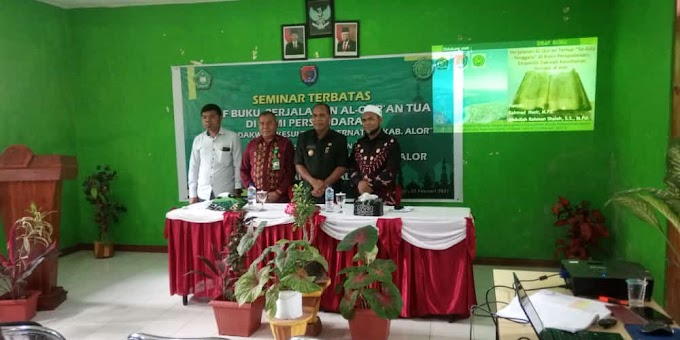 Telaah Al-Qur'an Tua di Tuabang, Rahmad Nasir: Mohon Dijaga Dengan Baik
