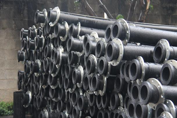 pipa spool HDPE untuk dewatering