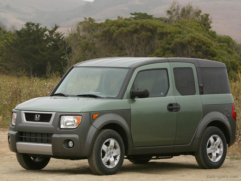 2004 honda element suv specifications pictures prices for Honda element dimensions