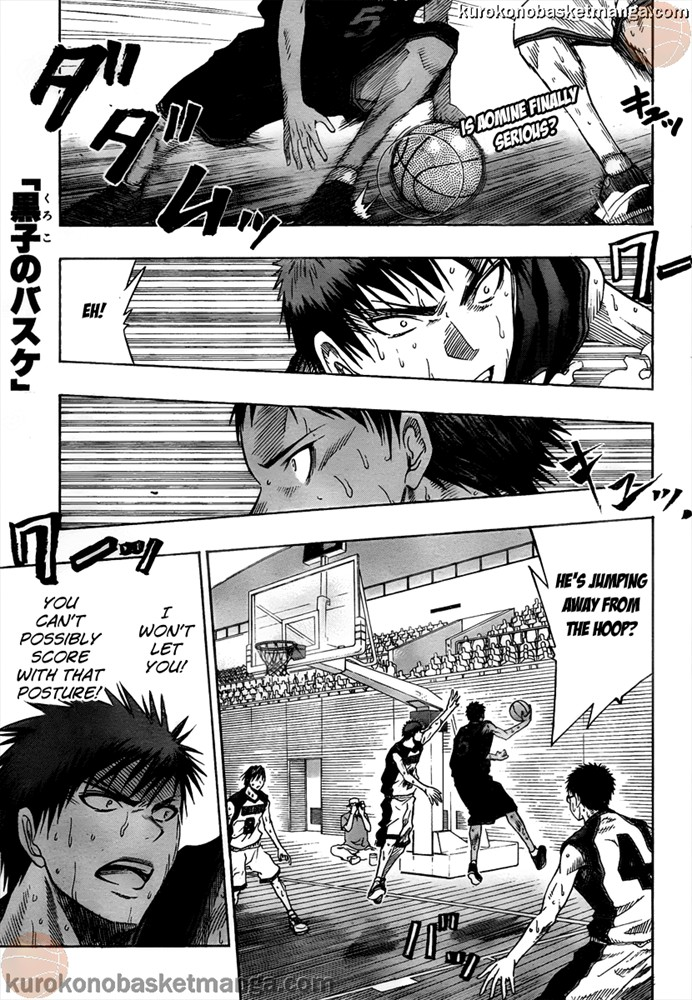 Kuroko no Basket Manga Chapter 49 - Image 01