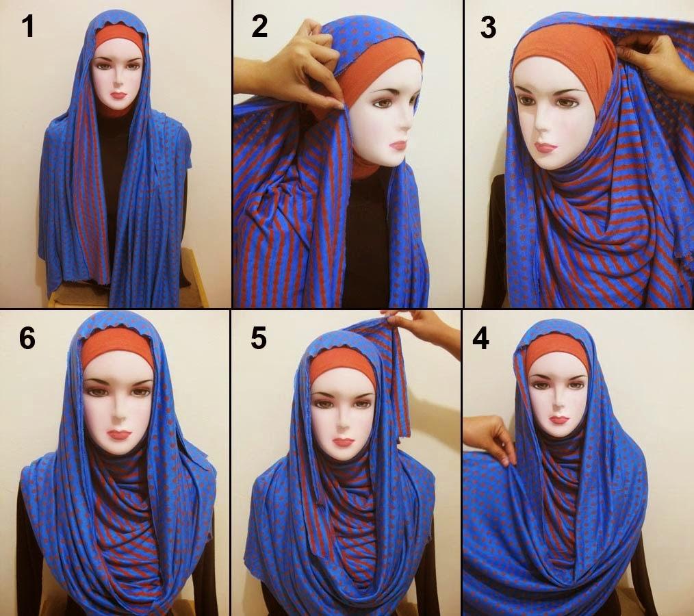 Tutorial Hijab Pesta Modern Youtube