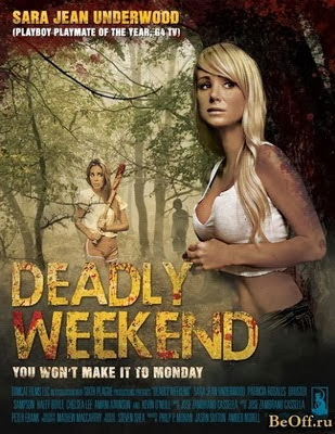 Filme Poster Deadly Weekend WEBRip XviD & RMVB Legendado