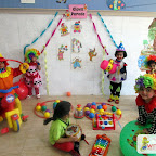 Clown Parade Activity - Playgrup (6-3-2017)