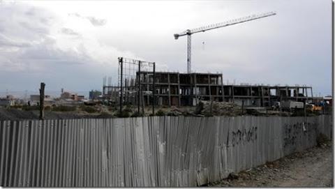 Jach'a Uta de El Alto solo tiene 31% de avance en tres años