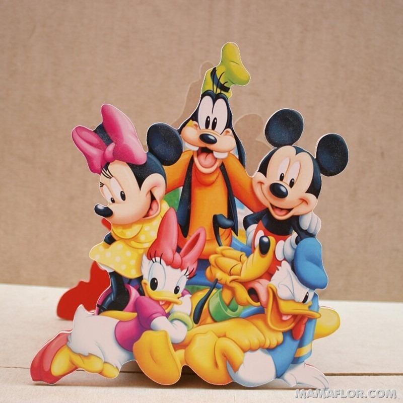 centro de mesa mickey y minnie mouse --- (16)
