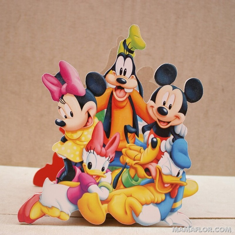 centro de mesa mickey y minnie mouse - 16