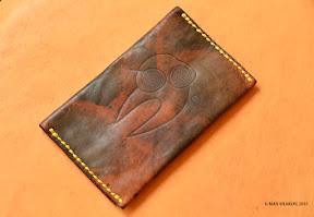 кошелёк ручной работы, настоящая кожа art 24 elefant