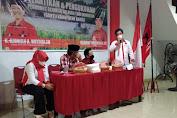"""Legislator PDIP Sulsel Rahmat Muhayang Lantik Pengurus """"GANTI"""" Kabupaten Barru"""