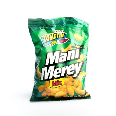 snack cometin mix mani-merey familiar 190gr