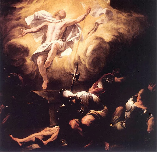 Luca Giordano - Resurrection, after 1665