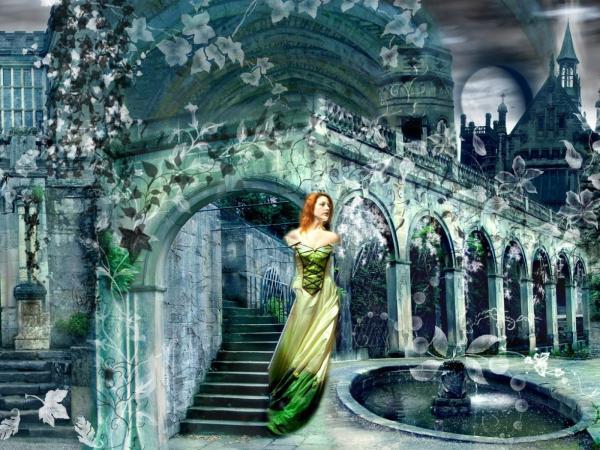 Girl In The Magic Dark Garden, Magic Beauties 3