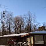 View of W4RX QTH and antenna farm