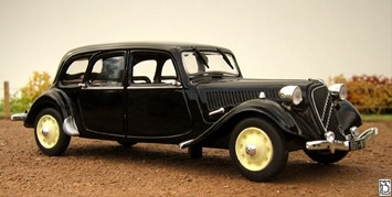 Citroen Traction 15 Six familiale 1939