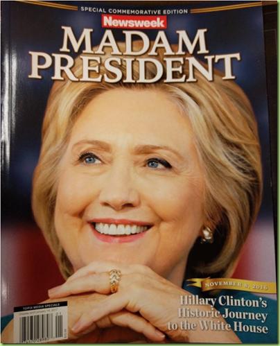 newsweek hillary