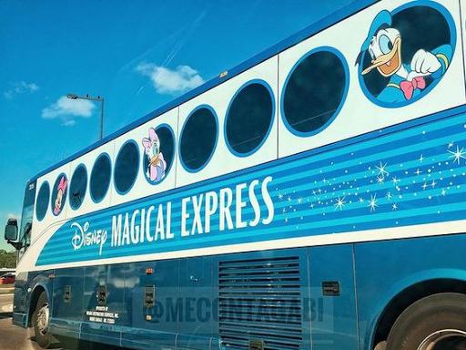 DISNEY vai parar de oferecer o serviço de transporte do MAGICAL EXPRESS a partir de 2022