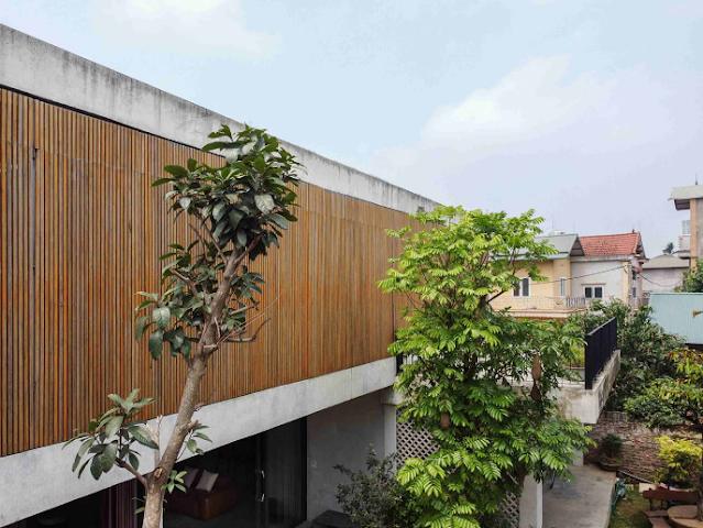 B House mẫu nhà vườn tuyệt đẹp tạngoại thành Hà Nội
