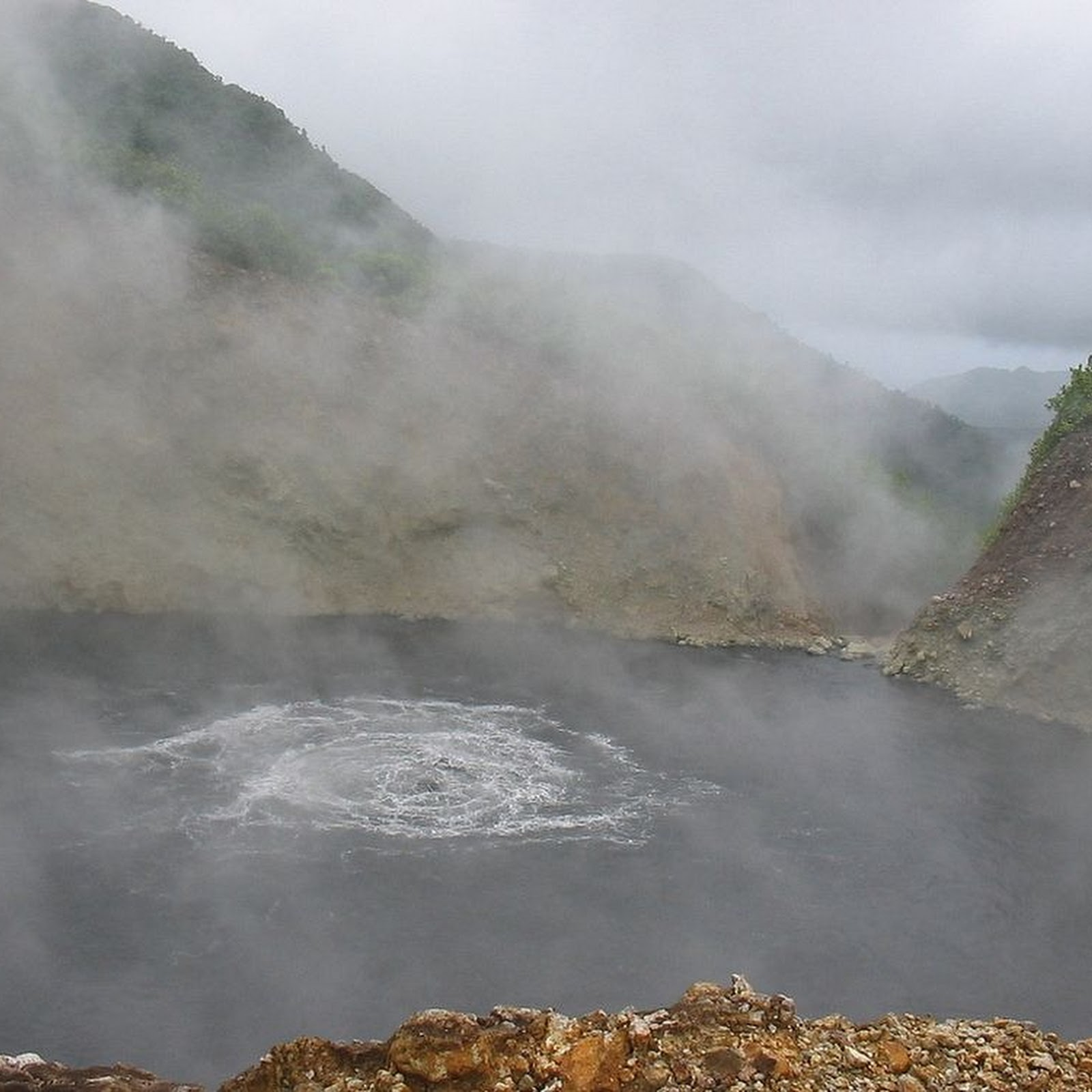 Boiling Lake of Dominica