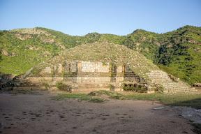 Buddhist stupa in Bhamala