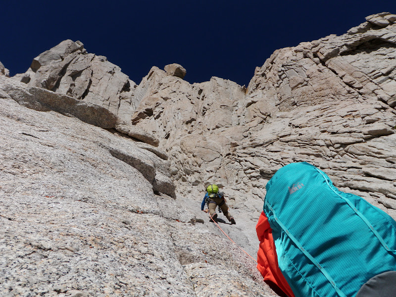 Mount Whitney • East Face, Pitch 3