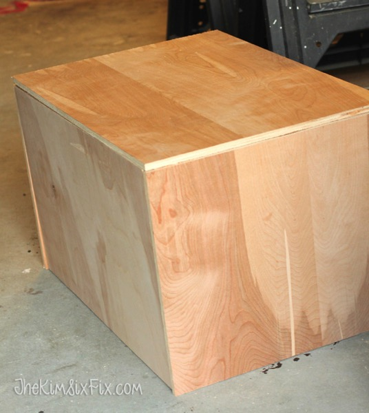 Building toybox from 12 plywood