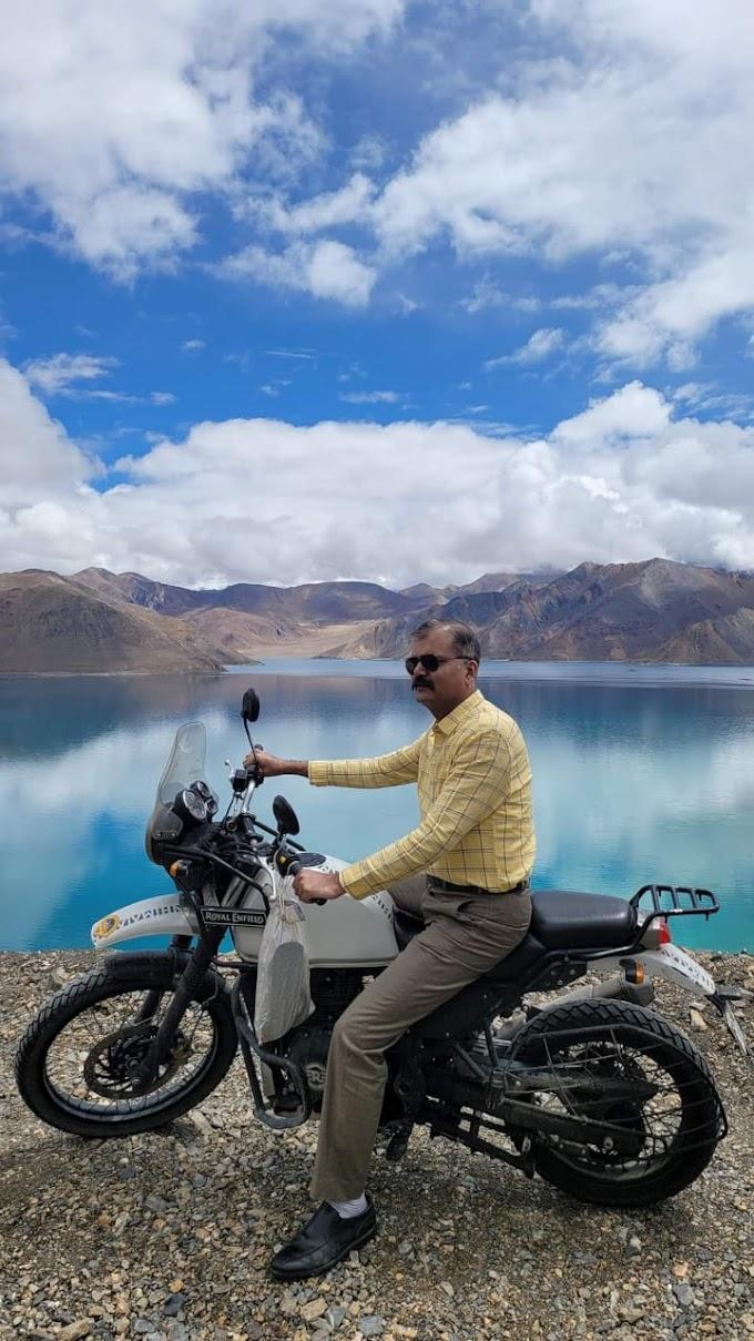 यात्री मन के बहाने वरिष्ठ आईपीएस अधिकारी विकास वैभव ने फिर लोगों को कराया हिमालय का साक्षात दर्शन
