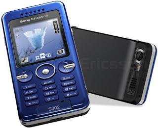 Sony Ericsson S302 Smart & Simple phone