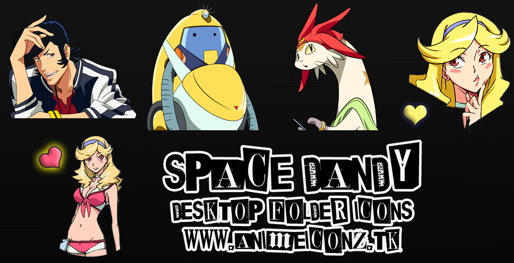 Space Dandy Icons Space Dandy Folder Icons
