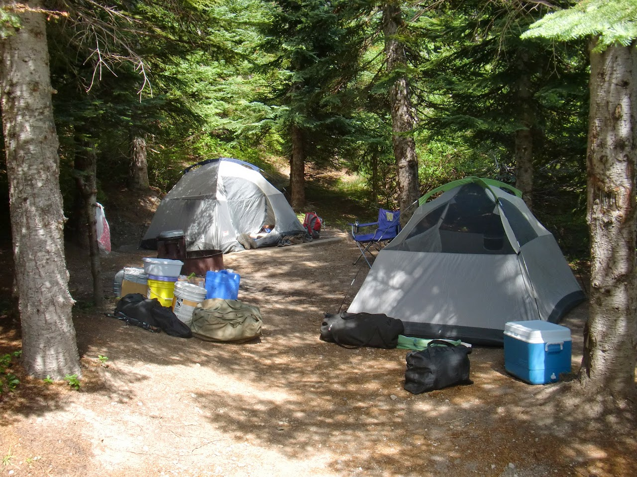 Camp at Climber's Bivouac