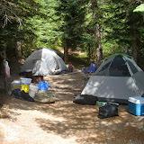 Camp at Climber's Bivouac