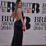 OIC - ENTSIMAGES.COM - Alicia Rountree at the  The BRIT Awards 2016 (BRITs) in London 24th February 2016.  Raymond Weil's  Official Watch and  Timing Partner for the BRIT Awards. Photo Mobis Photos/OIC 0203 174 1069