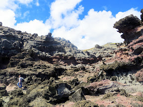 On the way to Nakalele Blowhole, there is an alien landscape