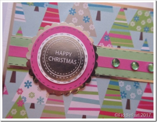 Bright Colours Christmas Tree Card