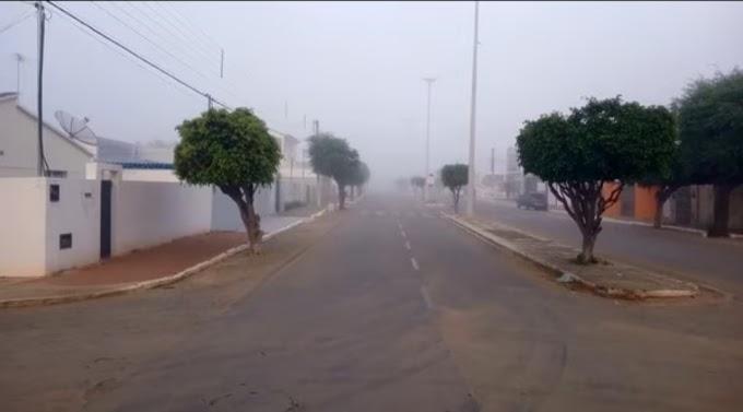 Monteiro, PB, registra 14,4º C, menor temperatura da região em 2021