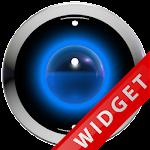 Poweramp Widget Lightblue Robo Icon