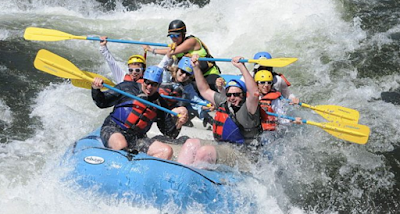 water rafting california