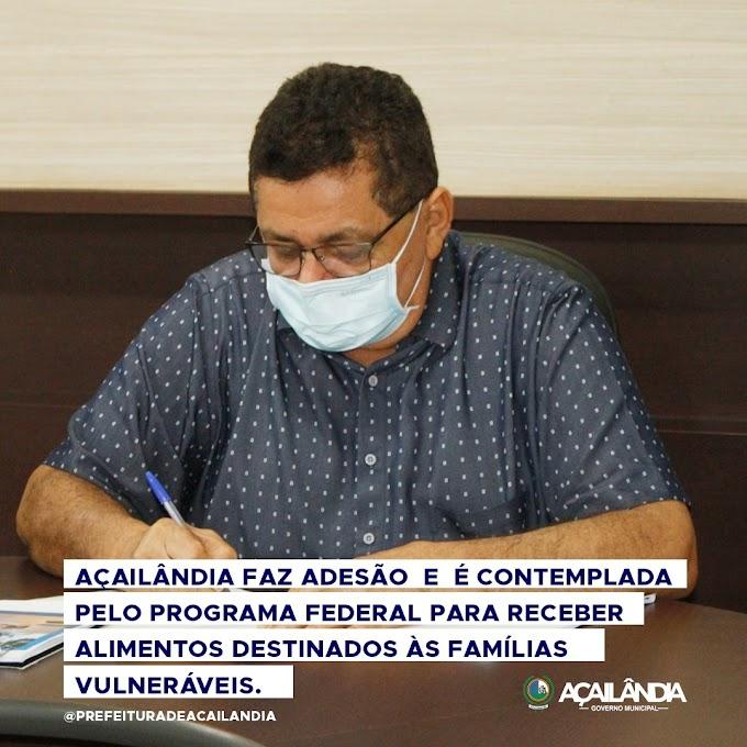 Acailândia adere a programa para benefíciar famílias em situação de vulnerábilidade