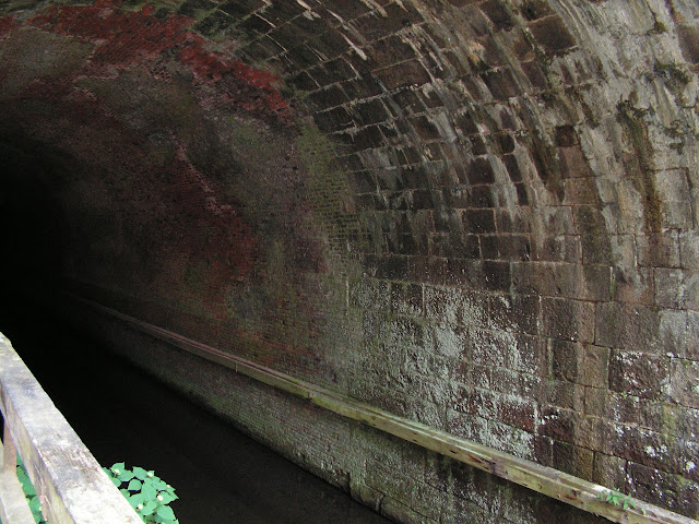 Paw Paw Tunnel fiinished with bricks