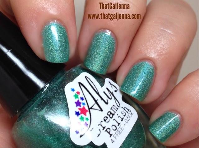aly's dream polish, polish, indie polish, holo