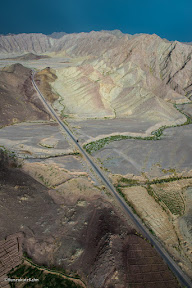 Arial view of Khuzdar
