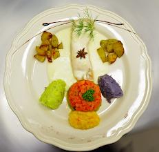 Foto: pave de saumon sauce anis étoilé