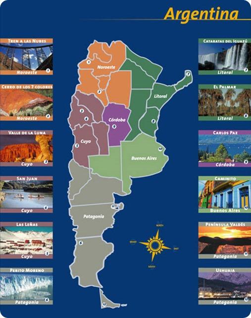 parques nacionales mapa